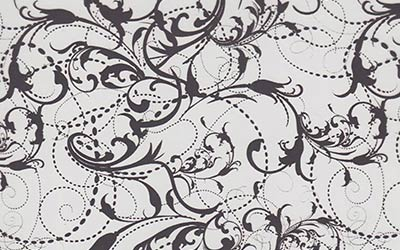 573-Black-Lillies-Lilies-Flower-Floral-Print-WHITE