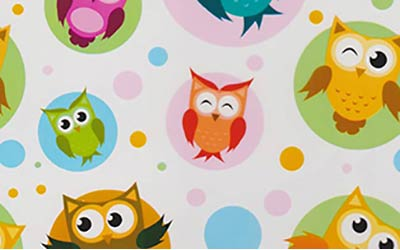 576-Super-Cute-Owls-Owl-Cartoon-Hydrographics-Film-Pattern-Buy-WHITE-Quarter