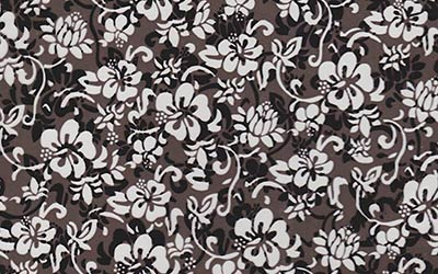 577-Hibiscus-Hawaii-Flowers-Hydrographics-Film-Pattern-Buy-WHITE-Quarter