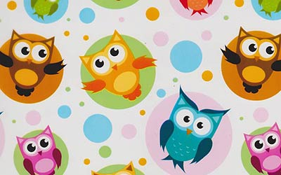 576-Super-Cute-Owls-Owl-Cartoon-Hydrographics-Film-Pattern-Buy-WHITE